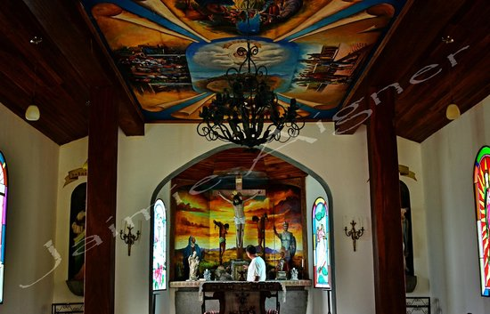 Nuevo Arenal, Costa Rica: The Chapel