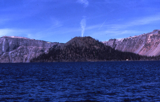 Crater Lake National Park, OR: Wizard Island
