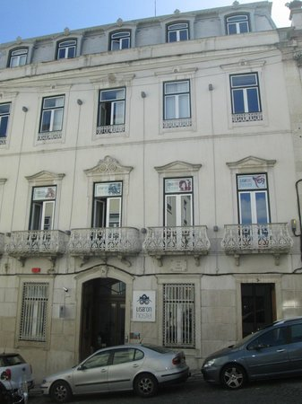 Lisb'on Hostel: Façade