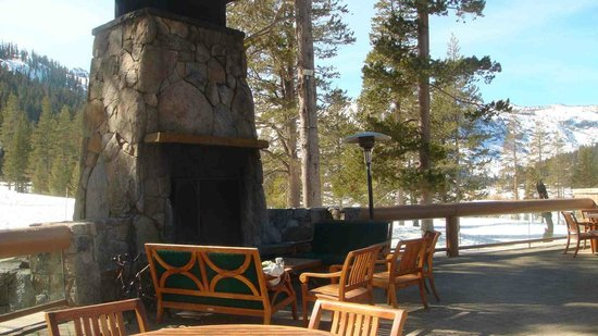 Resort at Squaw Creek: only used on weekends