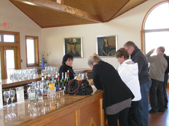 Water Mill, Nowy Jork: The tasting room