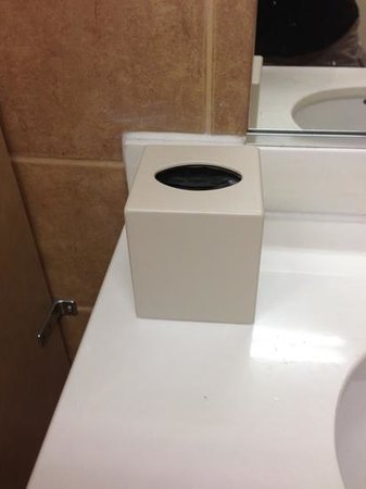 Residence Inn Phoenix Mesa: I never saw any tissue paper in the lobby bathroom during my stay