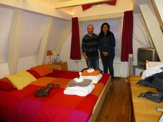 Cynthia with Camillo at Camillo's CityCenter Bed and Breakfast Amsterdam