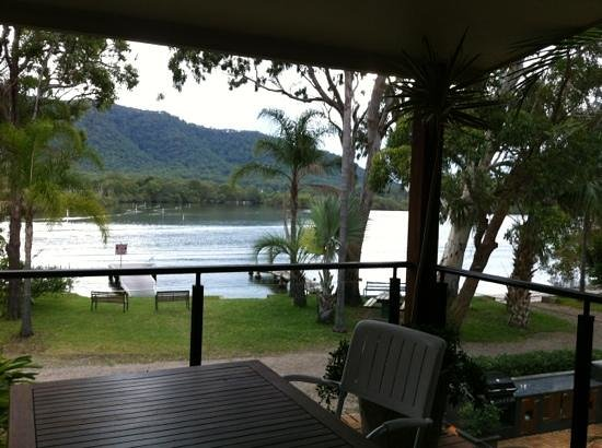 North Haven, Australien: Balcony overlooking river