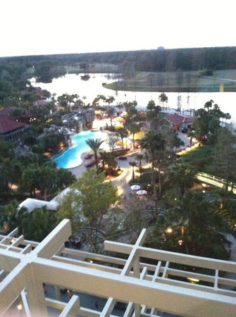 Hyatt Regency Grand Cypress: Pool area