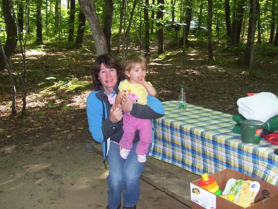 Crawford Notch General Store and Campground: grandaughter