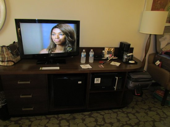 Hilton Garden Inn Los Angeles/Hollywood: some of the room amenities