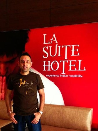 Hotel La Suite : Happy HOLI to everyone