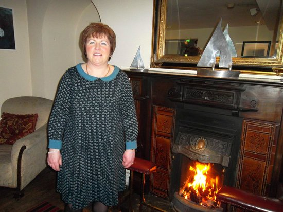 Portaferry, UK: By the fire
