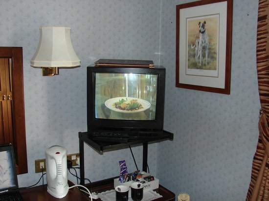 The Grand Hotel: old TV