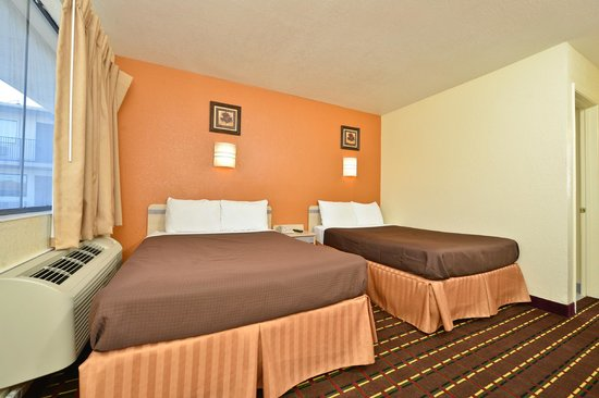 Americas Best Value Inn Wichita Falls: Guest Room