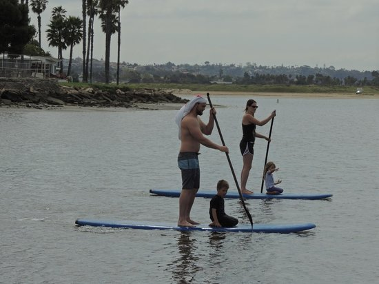 Campland on the Bay: Stand up paddleboarding