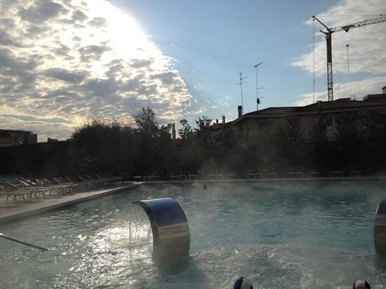 Hotel Savoia Thermae & Spa: piscina termale