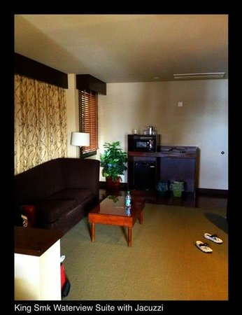 Suquamish, WA: Lounge/kitchenette area - Room 425