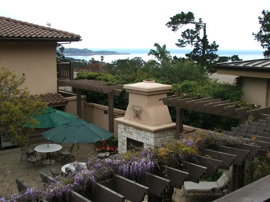 Horizon Inn & Ocean View Lodge: Jacuzzi and a view