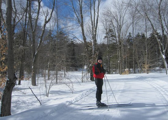 Chittenden, VT: Cross country skiing.
