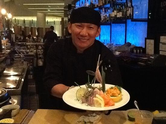 Grand Hyatt DFW : Let Mark prepare your sushi meal. The best I've ever had.