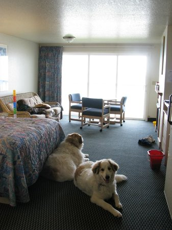 Surfside Resort: Lots of room to move around in
