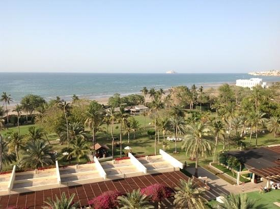 InterContinental Hotel Muscat: View from 208