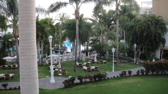 Early evening from the balcony picture of jardines de nivaria adrian hoteles costa adeje - Hotel adrian jardines de nivaria ...