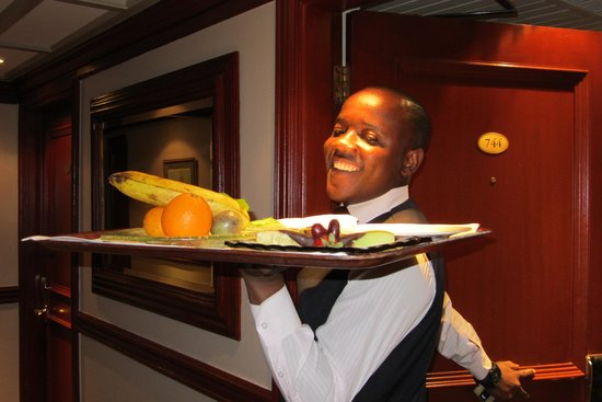 Fairmont The Norfolk: service with a smile