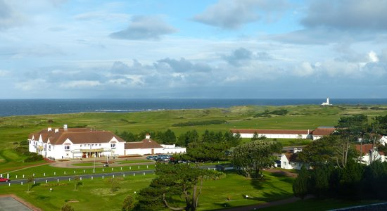 Turnberry, UK: View from our room