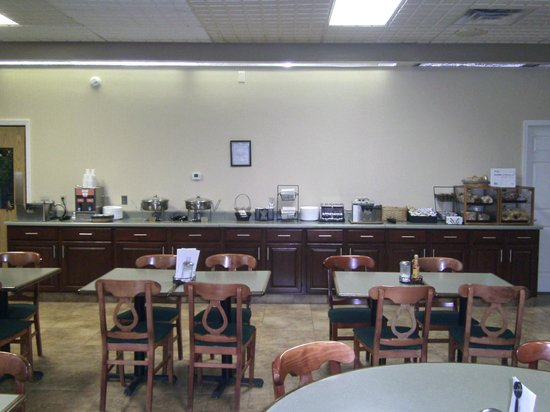 BEST WESTERN Williamsport Inn: Breakfast Room