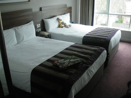 Jurys Inn London Chelsea: Twin-Bed-Zimmer
