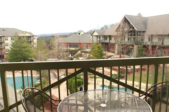 Marriott's Willow Ridge Lodge: Viiew from the Villa