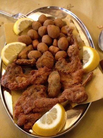 Acquaviva Picena, Italia: Fritto misto all&#39;ascolana