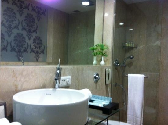 Kenilworth Hotel, Kolkata : bathroom 