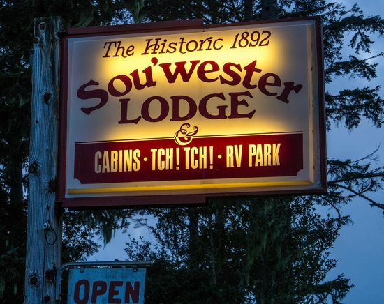 Sou'wester Lodge: Welcome to the Sou'wester
