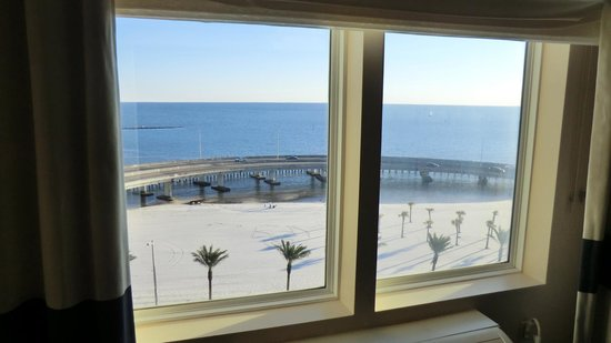 Four Points by Sheraton Biloxi Beach Boulevard: Great view shame about the freeway