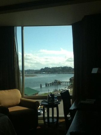 The Mill Casino Hotel: the view of the bay