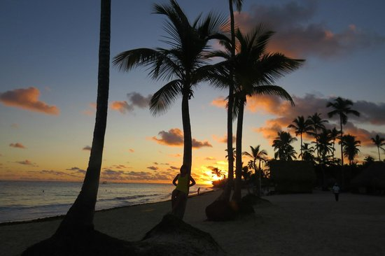 Iberostar Grand Hotel Bavaro: Sunset