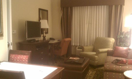 Homewood Suites Las Vegas Airport: living room
