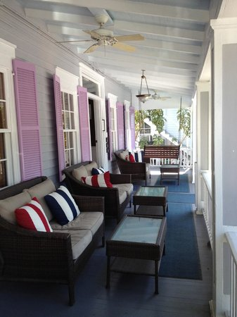 Artist House on Fleming : la veranda