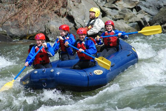 Hartford, TN: Our 1st White Water Rafting experience!