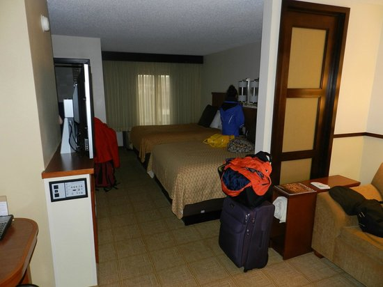 Hyatt Place Sterling/Dulles Airport-North: groes Zimmer