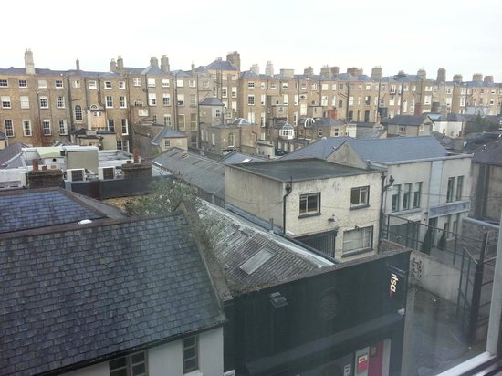 The Merrion Hotel: View from room.