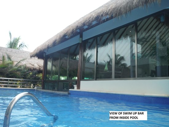 Generations Maroma, by Karisma: swim up bar from inside pool