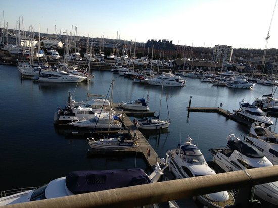 Salthouse Harbour Hotel: The view from room 411, overlooking the marina