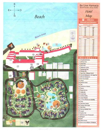 Belive Map Picture Of Be Live Experience Hamaca Garden Boca Chica Tripadvisor