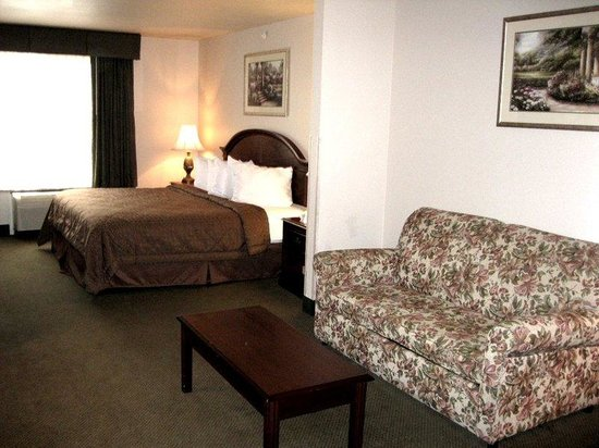 BEST WESTERN PLUS Memorial Inn & Suites: King Suite