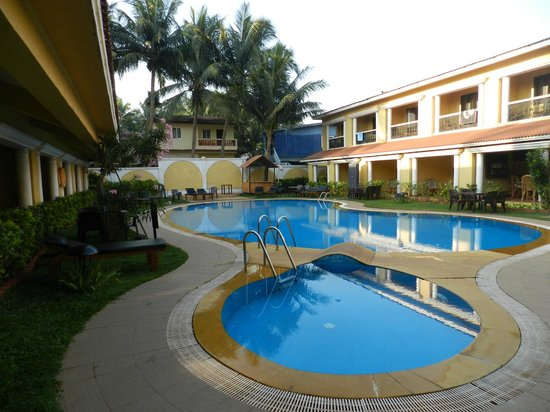 Casa De Goa Boutique Resort: Swimming pool