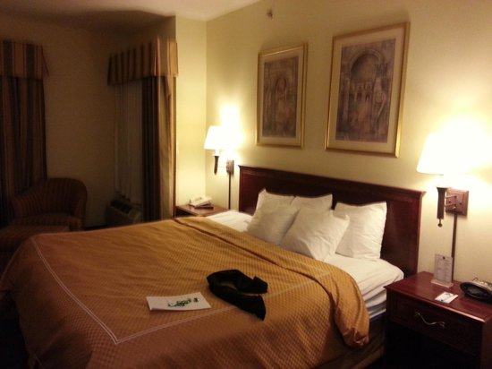 Comfort Suites Newark: Big, tidy room