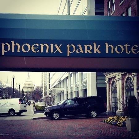 Phoenix Park Hotel: Awesome veiw