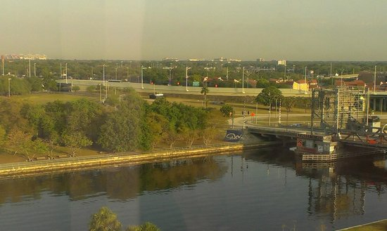 Howard Johnson Plaza Tampa-Downtown: view from room