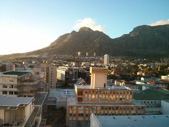 Protea Hotel Fire & Ice! Cape Town : Outside view as seen from inside of room window
