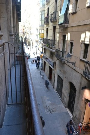Hotel Lloret Ramblas: View from our room